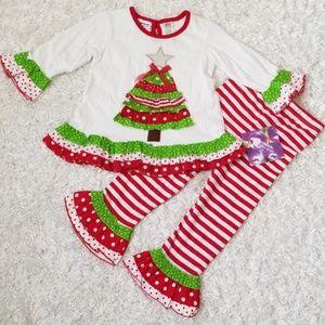 NWT Girl's Adorable Christmas Outfit